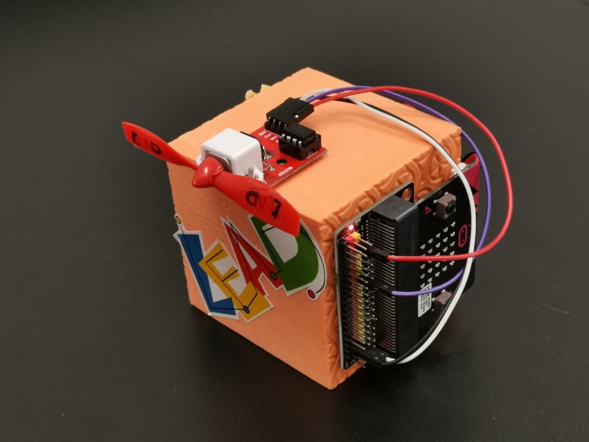microbit smart fan