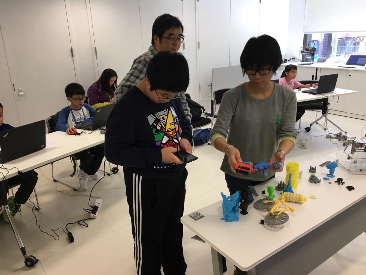2017 Jan 3D Printing & EV3@HQ 03